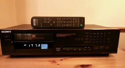 Sony Cd Player Cdp-761E, High Quality Superb Sounding, With Remote Pwo Vgc