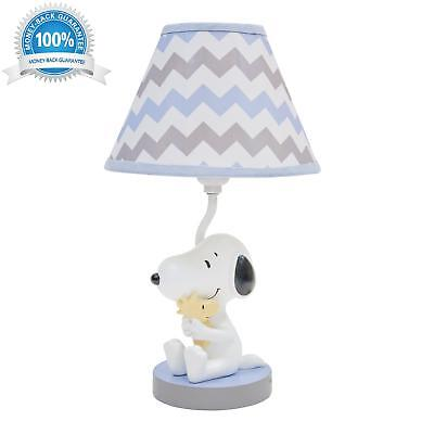 Lambs &Amp; Ivy My Little Snoopy Lamp With Shade And Bulb Brand New!