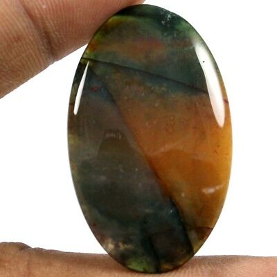 41.05 cts 100% Natural Excellent Quality Bloodstone Oval Loose Cabochon Gemstone