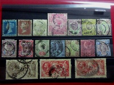 GREAT BRITAIN - Old Classic Stamps - Used - Mostly VF - r59e4054