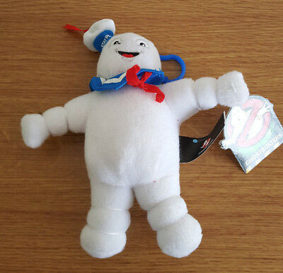 Stay Puff Marshmallow Soft Toy Keyring Ghostbusters Plushie Who you gonna call