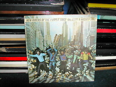New Riders of the Purple Sage-Oh what a mighty time LP 1975