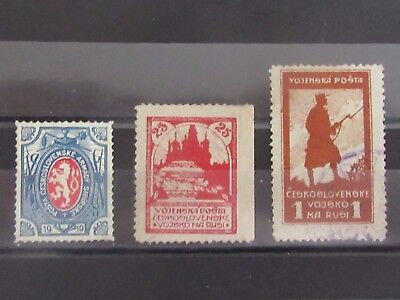 CZECHOSLOVAKIA  SIBERIA Occupation Stamps - Used / Mint NG / MH - VF - r59e3990