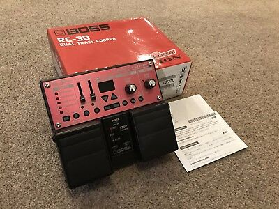 Boss RC-30 Dual Track Looper Guitar Effects Pedal