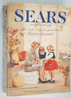 Sears 1960 Fall And Winter Catalog