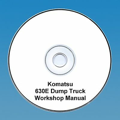 Komatsu 630E Dump Truck Workshop Manual