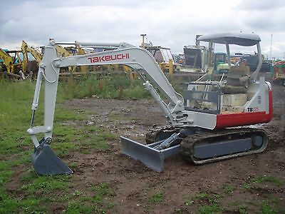 Takeuchi  TB 025 Mini Digger Operators Manual