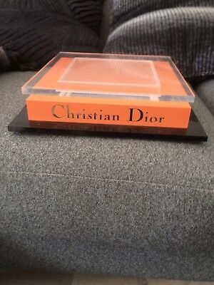 Authentic Vintage Christian Dior Shop Stand Display Gorgeous