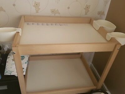 Ikea baby changing unit.