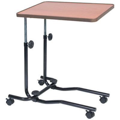 Portable Overbed Table Over Chair Mobility Laptop Adjustable Desk Disability Aid
