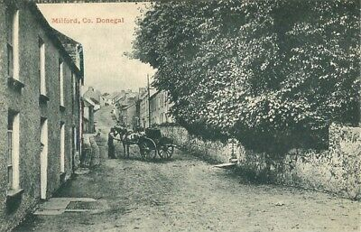 Co Donegal Milford Street Scene