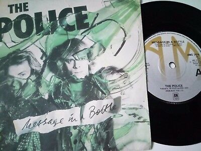 "The Police 7"" - Message In A Bottle Rare & Orig 1979 Single Punk Clash Pistols"
