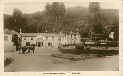 Co Wicklow Woodenbridge Hotel Arklow Real Photo