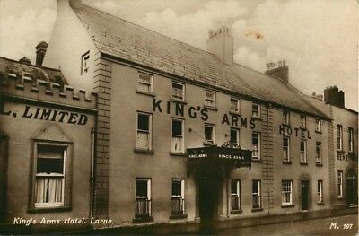 Co Antrim King'S Arms Hotel Larne Real Photo
