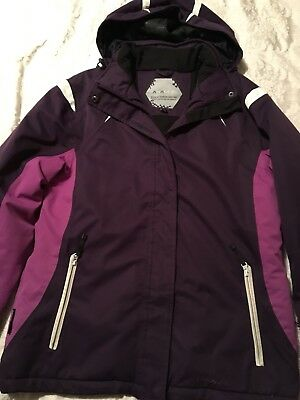 Parallel Ski Jacket Ladies Size 12 Purple