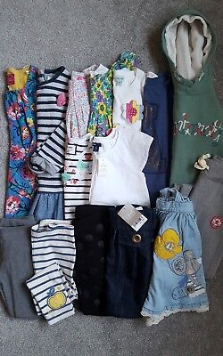 GIRLS CLOTHING BUNDLE AGE 5-6 Yrs NEXT,BODEN,TOPS,SKIRTS,FLORAL,GAP,DENIM,DRESS