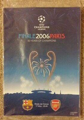 2006 Uefa Champions League Final Barcelona v Arsenal Mint Condition (Unopened)