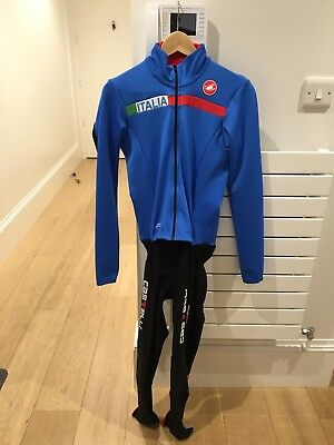 Castelli Italia Thermo Winter Long Jacket Tights Skinsuit Race San Remo CX