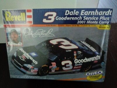 Revell #3 Dale Earnhardt Goodwrench Service Plus 2001 Monte Carlo Model Kit OREO