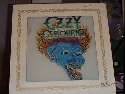 Ozzy Osbourne Carnival Mirror 6 Inch Dragon Tattoo VERY RARE Vintage