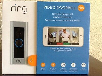 Brand New - Ring Video Doorbell Pro - Wi-Fi Enabled - SEALED