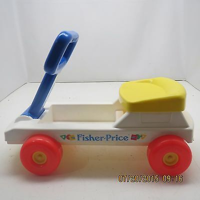 vintage Fisher-Price Wagon Push, Pull & Ride