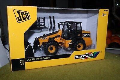 BRITAINS FARM TOYS 1/32 SCALE JCB TM 310S Loader