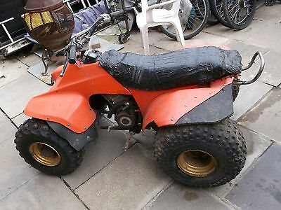 Suzuki lt 125 quad bike for spares/repair