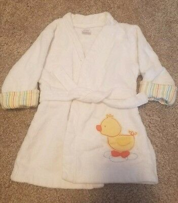 NWOT Carter's Baby Boy / Baby Girl Bath Robe Size 0-9 months