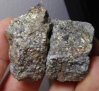 15.5 Oz High Grade Gold And Silver Ore Veins Loaded 8 Pc Lot Au Ag Scrap Kt