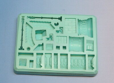 Hirst Arts Mould #42 Gothic Arena Accessories. Create Gothic Dungeon Greatness