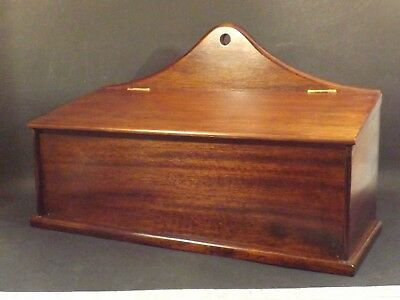 Vintage ~ Solid Oak ~ Wall Hanging ~ Candle Box