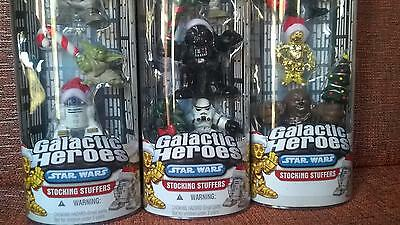 Star Wars galactic heroes stocking stuffers pack of 3