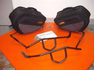 GENUINE KTM Panniers/Side Bag Set & Carrier Kit: 950SM SUPERMOTO 2005-2008
