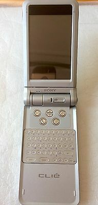 Sony Clie PEG-NX60/U PDA Palm OS, with usb cradle and power adapter, used, AS IS