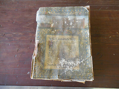 Original 1913 Sears & Roebuck Fall Catalog Number 127