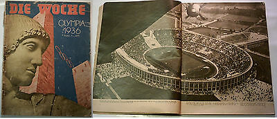 Orig.PRG / Photo Guide     XI.Olympic Games BERLIN 1936   !!!  EXTREM RARE
