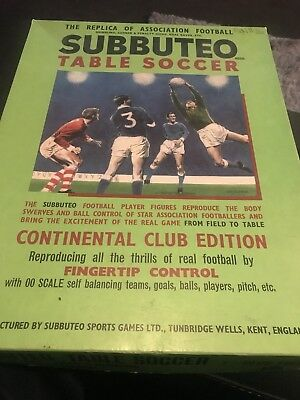 Continental Club Edition Subbuteo From 1973-74
