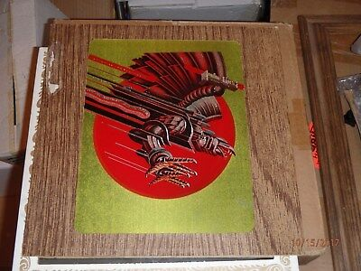 Judas Priest Carnival Mirror 12 Inch Screaming for Vengeance RARE Vintage