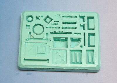 Hirst Arts Mould #58 Common Inn Accessories Mould. Unused. Hobbit-ual Fun Folks!