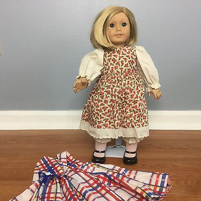 "AMERICAN GIRL DOLL Kit Kittredge 18"" with Dresses Historical Pleasant Company"
