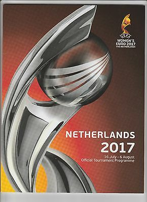 Orig.Complete PRG   Woman`s European Championship NETHERLANDS 2017  !!  RARE