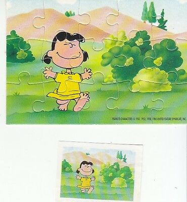 Kinder Puzzle Peanuts Lucy