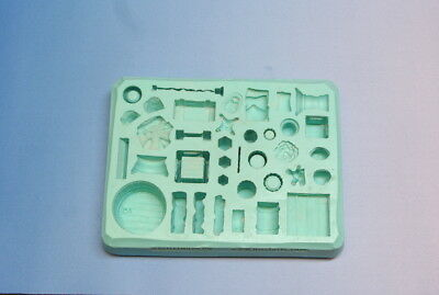 Hirst Arts Mould #85 Cavern Accessory Mould. Descent Goodness Beckons!