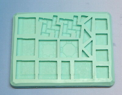 Hirst Arts Mould #205 Gothic Floor Tiles. Create Lots of Gothic Floor Goodness!