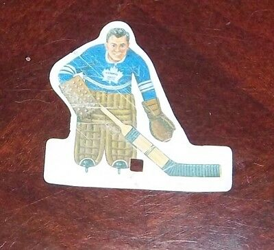 Coleco Banana Blade Toronto Maple Leafs goalie 1971 table top hockey games