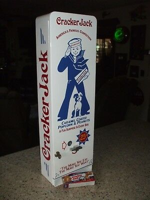 1950's crackerjack theme vending machine  popcorn peanuts arcade baseball