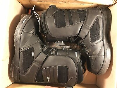 Vans Encore Boa Snowboard Boots, Mens 11 Black Regular