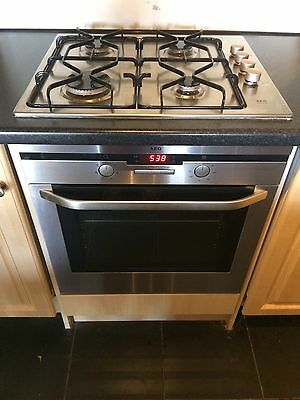 Built in AEG B3101-4 electric oven.