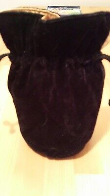 Black make up bag, going out bag.. Part of HALLOWEEN Costume. Trick or treat 👻